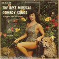 "Music Memorabilia:Recordings, Betty Page Cover ""The Best Musical Comedy Songs"" LP Halo 50245 Mono (1950s)...."