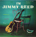 "Music Memorabilia:Recordings, Jimmy Reed - ""I'm Jimmy Reed"" LP Vee-Jay 1004 (1958)...."