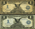 Large Size:Silver Certificates, Fr. 233 $1 1899 Silver Certificate Very Fine;. Fr. 236 $1 1899 Silver Certificate Very Good.. ... (Total: 2 notes)