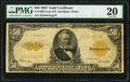 Large Size:Gold Certificates, Fr. 1200 $50 1922 Gold Certificate PMG Very Fine 20.. ...