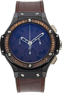 Hublot, Big Bang Ceramic Tutti Fruitti Brown, Automatic Chronograph, Circa 2010