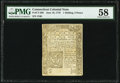 Colonial Notes:Connecticut, Connecticut June 19, 1776 1s 3d PMG Choice About Unc 58.. ...