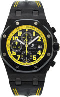 "Timepieces:Wristwatch, Audemars Piguet, Royal Oak Offshore ""Bumblebee"", 42mm Carbon and Ceramic, Circa 2009. ..."