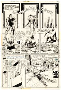 Curt Swan and Murphy Anderson Action Comics #415 Story Page 4 Original Art (DC, 1972)