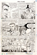 Original Comic Art:Panel Pages, Dick Ayers and John Tartaglione Sgt. Fury #32 Story Page 2 Original Art (Marvel Comics, 1966)....