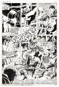 Original Comic Art:Panel Pages, George Tuska and Billy Graham Hero for Hire #10 Story Page 15 Original Art (Marvel, 1973)....
