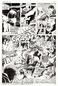 George Tuska and Billy Graham Hero for Hire #10 Story Page 15 Original Art (Marvel, 1973)
