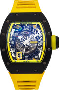 Timepieces:Wristwatch, Richard Mille, RM 030, Gran Priz Brasil, Power Reserve with Date, Carbon, Ltd Ed. 05/30, Circa 2015. ...