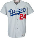 Baseball Collectibles:Uniforms, 1975 Walter Alston Game Worn Los Angeles Dodgers Jersey....