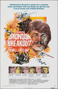 """Movie Posters:Action, Breakout & Other Lot (Columbia, 1975). Folded, Overall: Very Fine-. One Sheets (3) (27"""" X 41""""), Mini Lobby Cards (27), & Bri... (Total: 33 Items)"""