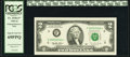 Fr. 1936-F* $2 1995 Federal Reserve Note. PCGS Superb Gem New 69PPQ