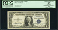 Georgia Neese Clark and John W. Snyder Dual Courtesy Autographed Fr. 1613W $1 1935D Wide Silver Certificate. PCGS Appare...