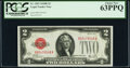 Small Size:Legal Tender Notes, Fr. 1503 $2 1928B Legal Tender Note. PCGS Choice New 63PPQ.. ...