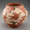 American Indian Art:Pottery, A Zia Polychrome Jar... (Total: 0 )