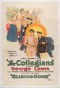 """Miscellaneous Collectibles:General, """"The Collegians"""" Linen-Backed 1-Sheet Poster...."""
