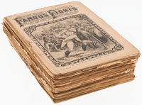 """Early 1900s Shurley's """"Famous Fights"""" Publications"""