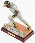 Baseball Collectibles:Others, Rickey Henderson Statute....