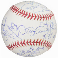 2004 Boston Red Sox Limited Edition World Series Team Signed Baseball