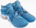 Basketball Collectibles:Others, Nikola Jokic Signed Shoes....