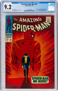 Silver Age (1956-1969):Superhero, The Amazing Spider-Man #50 (Marvel, 1967) CGC NM- 9.2 Off-white to white pages....