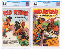 Red Ryder Comics #21 and 27 CGC-Graded Group (Dell, 1944-45).... (Total: 2 Comic Books)