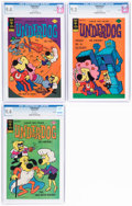 Bronze Age (1970-1979):Cartoon Character, Underdog #6, 7, and 8 CGC-Graded File Copies Group (Gold Key, 1976).... (Total: 3 Comic Books)