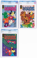 Bronze Age (1970-1979):Cartoon Character, Underdog #9, 10, and 11 CGC-Graded File Copies Group (Gold Key, 1976-77).... (Total: 3 Comic Books)