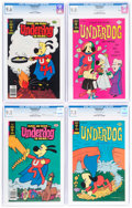Bronze Age (1970-1979):Cartoon Character, Underdog #2, 5, 22, and 23 CGC-Graded File Copies Group (Gold Key, 1975-79).... (Total: 4 Comic Books)