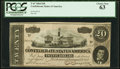 Confederate Notes:1864 Issues, T67 $20 1864 PF-10 Cr. 510 PCGS Choice New 63.. ...