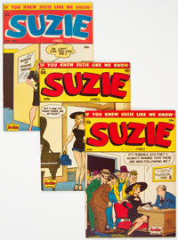 Suzie Comics #56, 58, and 61 Group (Archie, 1947-48).... (Total: 3 Comic Books)