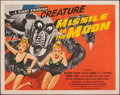 "Movie Posters:Science Fiction, Missile to the Moon (Astor Pictures, 1958). Folded, Very Fine-. Half Sheet (22"" X 28""). Science Fiction.. ..."
