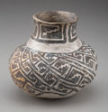 American Indian Art:Pottery, An Anasazi Black-On-White Jar...