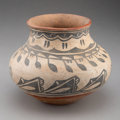American Indian Art:Pottery, A San Ildefonso or Tesuque Jar...