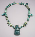 Pre-Columbian:Stone, A Superb Costa Rica Jade Necklace ...