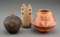 American Indian Art:Pottery, Three Southwest Pottery Vessels ... (Total: 3 )