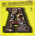 "Music Memorabilia:Recordings, ""Mel Taylor and the Magics in Action"" LP Warner 1624 Mono(1965)...."