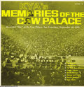 "Music Memorabilia:Recordings, Various Artists ""KYA's Memories of the Cow Palace"" LP Autumn 101 Mono (1960s)...."