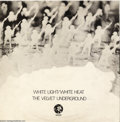 "Music Memorabilia:Recordings, Velvet Underground ""White Light/White Heat"" LP MGM 2353 Stereo (U.K. 1967)...."