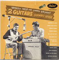 "Music Memorabilia:Recordings, Speedy West and Jimmy Bryant ""2 Guitars Country Style"" LP Capitol520 Mono (1954)...."