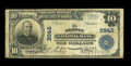 National Bank Notes:Pennsylvania, Berwyn, PA - $10 1902 Plain Back Fr. 626 The Berwyn NB Ch. # 3945....