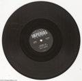 """Music Memorabilia:Recordings, Ricky Nelson """"Stood Up""""/""""Waiting In School"""" 78 Imperial 5483 Mono (1957)...."""