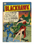 Golden Age (1938-1955):War, Blackhawk #32 (Quality, 1950) Condition: VG/FN....