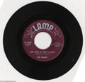 "Music Memorabilia:Recordings, Sharps ""Our Love is Here To Stay"" 45 Lamp 2007 Mono (1957)...."