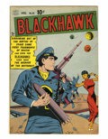 Golden Age (1938-1955):War, Blackhawk #30 (Quality, 1950) Condition: FN-....