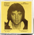 Music Memorabilia:Recordings, Elvis Presley Rare Interview 2-Record Set- In Days Gone By-WithEnclosures....