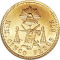 Mexico, Mexico: Republic gold 5 Pesos 1904-MoM,...