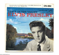 "Music Memorabilia:Recordings, Elvis Presley ""Peace in the Valley"" EP 45 RCA 4054 Mono...."