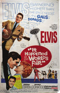 Music Memorabilia:Posters, It Happened at the World's Fair (MGM, 1963)....