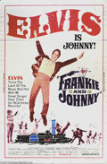 Music Memorabilia:Posters, Frankie and Johnny (United Artists, 1966)....