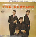 Music Memorabilia:Recordings, Beatles - Introducing the Beatles Vee-Jay Stereo VJLP 1062(1963)....